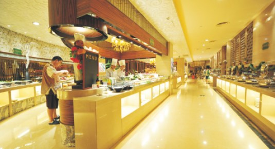 Area buffet furniture hotel 2