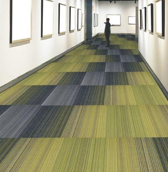 Contoh Penggunaan ubin lantai karpet murah