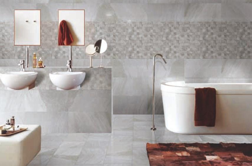 Contoh penggunaan granit dinding eksterior