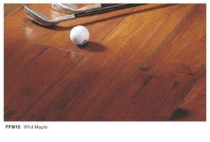 Dekorasi rumah dengan lantai kayu PFM19 Wild Maple