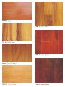 Harga lantai kayu laminasi murah VG1711 Jatoba