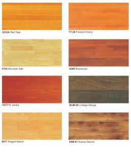 Harga lantai laminasi murah berkualitas tinggi 2232A red teak