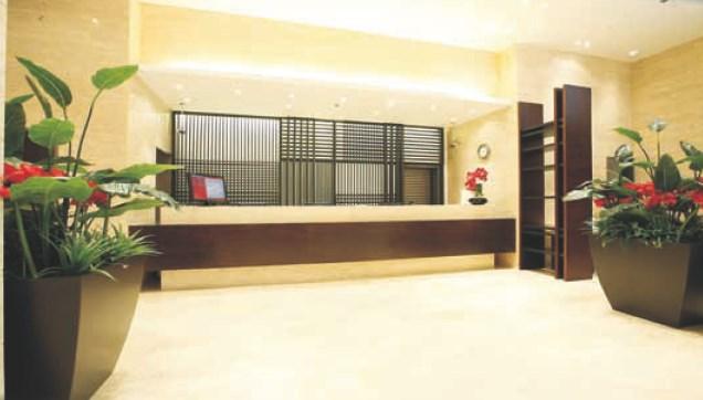 Hotel furniture resepsionis