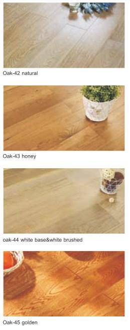Jual lantai kayu surabaya dan jakarta oak-42 natural