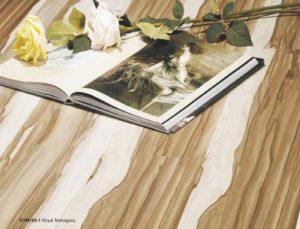 Jual lantai laminasi kayu murah GYM195-1 Royal Mahagany
