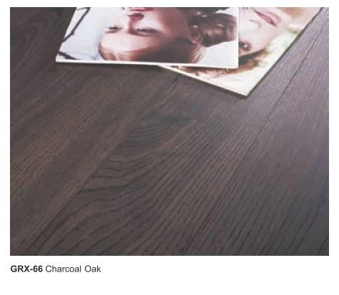 Jual lantai laminasi model kayu murah GRX-66 Charcoal oak
