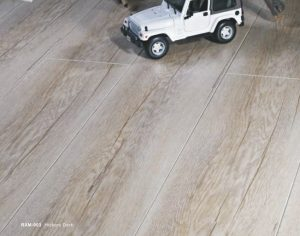 Kegunaan lantai kayu laminasi RXM-903 Hickory Dark