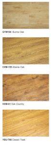 Laminasi lantai termurah GYM194 Burma Oak