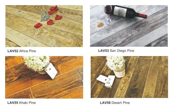 Lantai laminasi surabaya untuk dekorasi rumah LAV52 Africa Pine