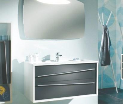 Lemari dan kaca kamar mandi yg simple GCYMDF-5006