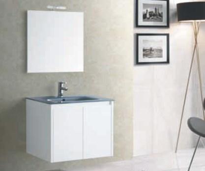 Lemari set dengan cermin untuk dekorasi kamar mandi GCYMDF-1310