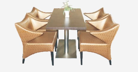Meja kursi furniture hotel berkualitas dan mewah YHT-010-T