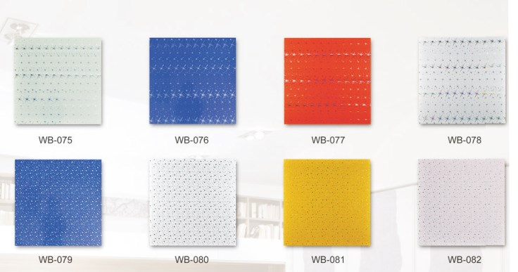 PVC plafon dengan beragam motif