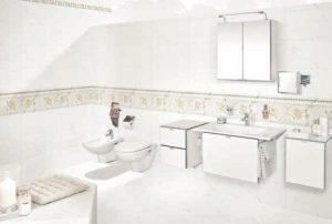 Pengaplikasian Keramik dinding untuk kamar mandi