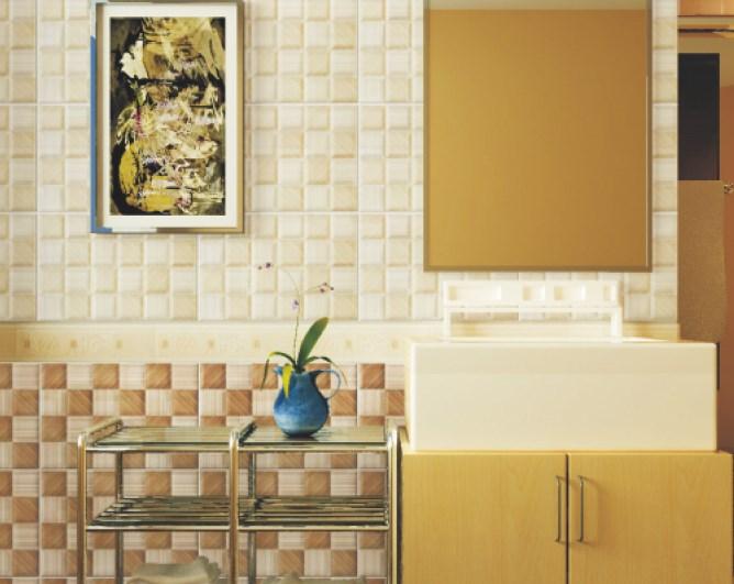 Pengaplikasian dinding kamar mandi