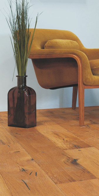 COntoh Penggunaan lantai kayu seri oak