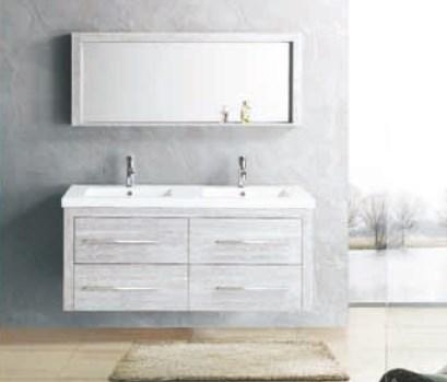 lemari dan cermin peralatan kamar mandi GCYMDF-1301-ML