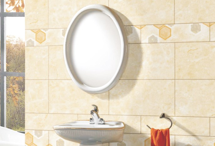 pengaplikasian Lantai Kamar mandi dinding